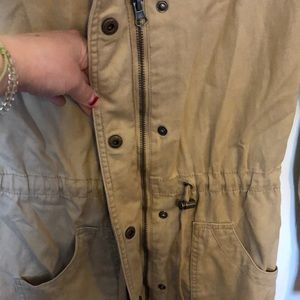 "Mossimo Supply Co. Jackets & Coats - khaki ""raincoat"" style jacket"